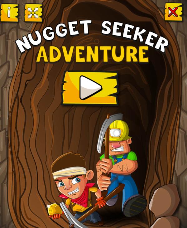 Nugget Seeker Game Source code on Swiftspeed Appcreator